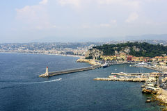Nice (Cote d'Azur) Royalty Free Stock Images