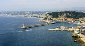 Nice (Cote d'Azur) Royalty Free Stock Image