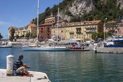 Nice - Cote dAzur - French Riviera Stock Image