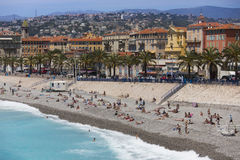 Nice - Cote dAzur - South of France. royalty free stock images