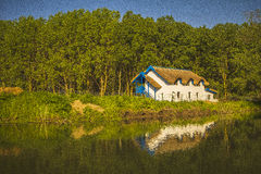 Nice Cottage on the Danube Delta Stock Photo