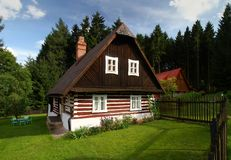 Nice cottage stock photography