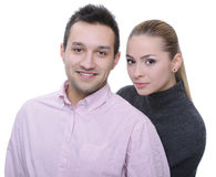 Nice couple Royalty Free Stock Photography