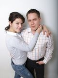 Nice couple Royalty Free Stock Photos