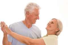 Nice Couple Dancing Royalty Free Stock Images
