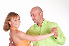 Nice couple dancing Royalty Free Stock Photography