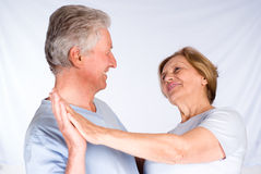 Nice couple dancing Stock Images