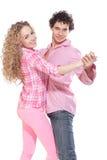Nice couple dancing Stock Photography
