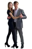Couple in dance Stock Photo
