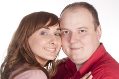 Nice couple portrait Royalty Free Stock Photography