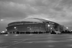 Nice cowboy stadium exterior in Arlington Stock Photos
