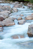 Nice creek with clear water Royalty Free Stock Images