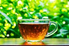 A nice cup of black tea Stock Photos