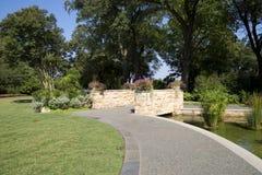 Nice Dallas Arboretum landscapes. Beautiful Dallas Arboretum , TX USA Royalty Free Stock Images