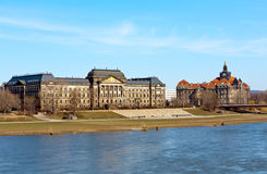 Nice day in Dresden Stock Image