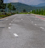 Nice day on the road in thai country Royalty Free Stock Photography