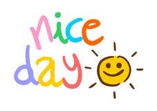 Nice day symbol Stock Photo