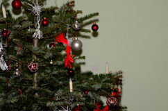 Nice decorated Christmas tree Royalty Free Stock Photography
