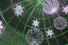 Nice decoration lights. Photo detail of Nice decoration lights royalty free stock photo