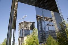 The nice development modern city Dallas Stock Photos