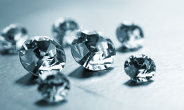 Nice diamonds Royalty Free Stock Photo
