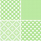 Nice different vector seamless patterns. Sweet vector set vector illustration