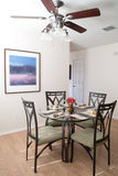 Nice dining room Royalty Free Stock Photo