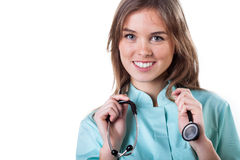 Nice doctor portrait Stock Photos