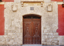Nice Door in Historic Monument Royalty Free Stock Photo