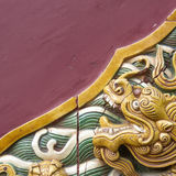 The nice dragon wall Royalty Free Stock Photos