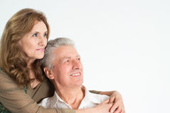 Nice elderly couple Stock Photos