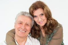 Nice elderly couple Stock Photo