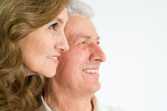 Nice elderly couple Royalty Free Stock Photography