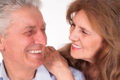 Nice elderly couple Royalty Free Stock Images