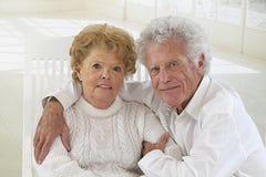 Nice elderly couple Stock Photos