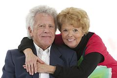 Nice elderly couple Stock Photography