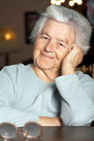 Nice elderly woman Stock Images