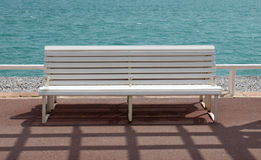 Nice - Empty bench Royalty Free Stock Photography