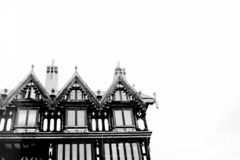 Nice england old building royalty free stock photography