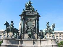 Nice European monument in Vienna. Royalty Free Stock Photos
