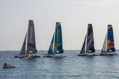 Nice, extreme sailing team, France, Europe Royalty Free Stock Photos