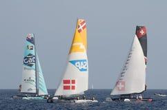 Nice, extreme sailing team, France, Europe Stock Image