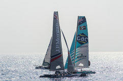 Nice, extreme sailing team, France, Europe Stock Images