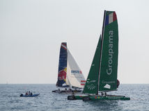 Nice, extreme sailing team, France, Europe Royalty Free Stock Photography