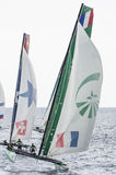 Nice, extreme sailing team, France, Europe Royalty Free Stock Images
