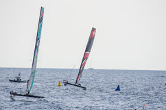 Nice, extreme sailing team, France, Europe Royalty Free Stock Photo