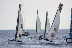 Nice, extreme sailing team, France, Europe Stock Photos