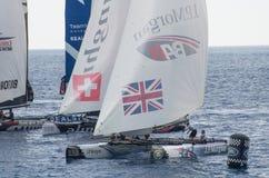 Nice, extreme sailing team, France, Europe Stock Photography