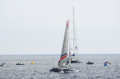 Nice, extreme sailing team, France, Europe Royalty Free Stock Photo