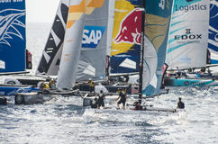 Nice, extreme sailing team, France, Europe Stock Images